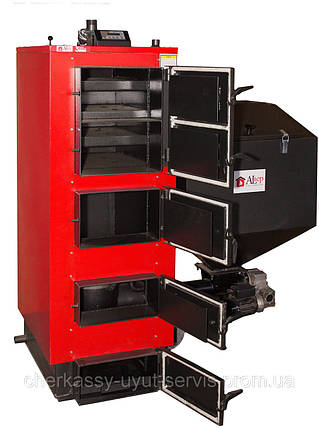 Altep твердотопливный котел длительного горения Альтеп КТ-2ESH 38 кВт, фото 2