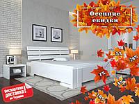 Кровать деревянная Домино с подъёмным механизмом из натурального дерева, фото 1