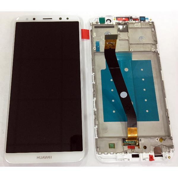 Дисплей для Huawei Mate 10 Lite (RNE-L01/RNE-L21) с тачскрином и рамкой белый Оригинал