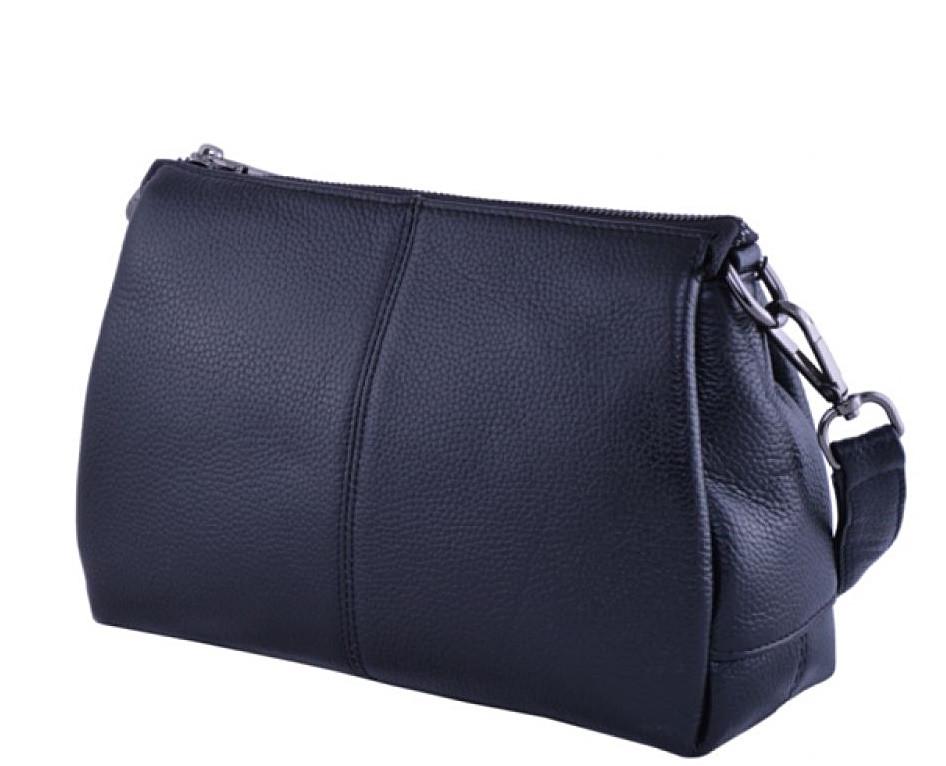 cf340d0d9c98 Женский кожаная сумка клатч 8273 Сумочка женская из кожи черная - Интернет  магазин