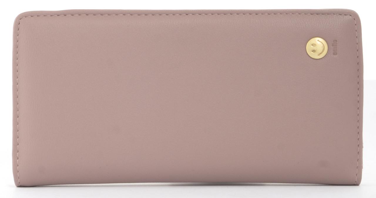 Стильный недорогой качественный тонкийкошелек высокого качества Tailian art. 5083-14 нежно розовый, фото 1