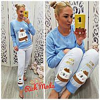 Очень теплая милая пижама с мишкой 6d4f2ebe880af