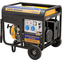 Бензиновый генератор тока Sadko GPS-8000E