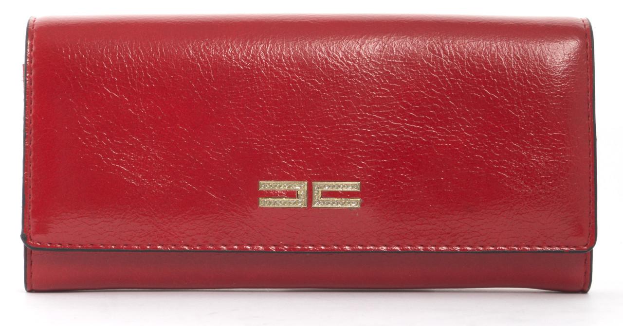 Стильный классический женский прочный кошелекSaralyn art. C9019 красный, фото 1