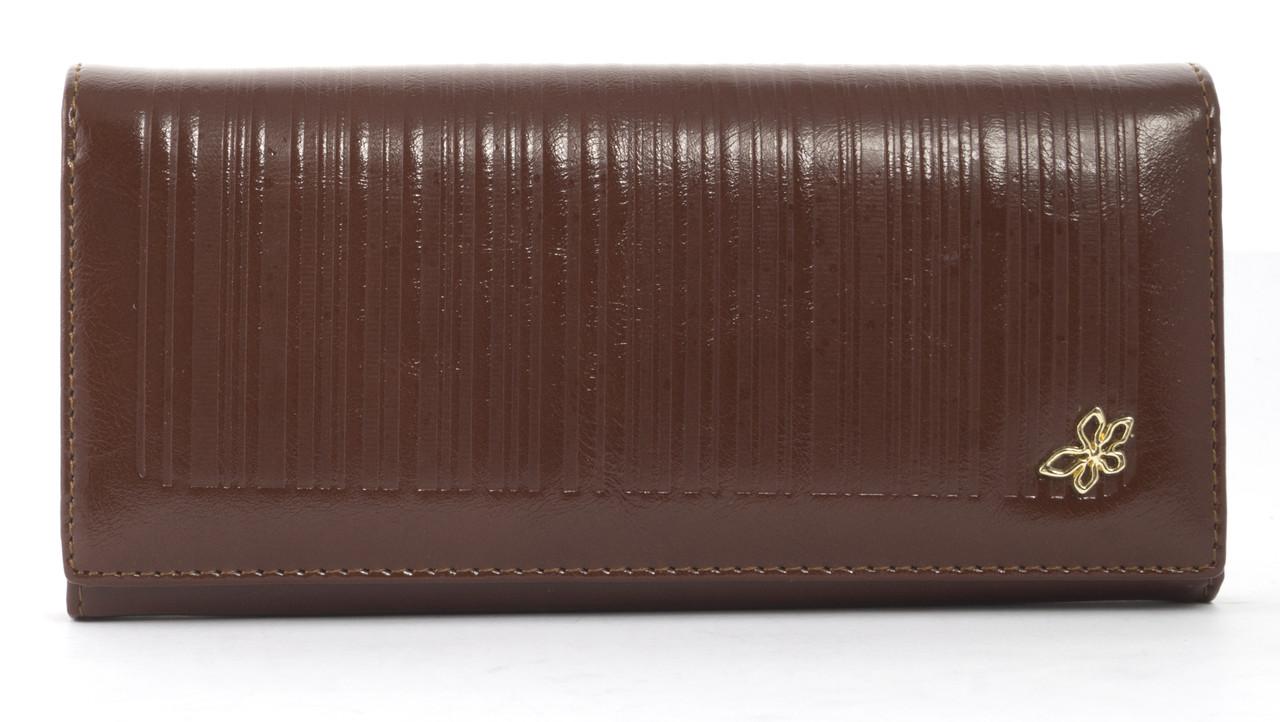 Стильный классический женский прочный кошелекSaralyn art. 8615 коричневый, фото 1