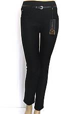 Теплі чорні жіночі брюки турція, фото 3