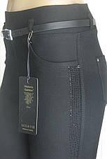 Теплі чорні жіночі брюки турція, фото 2