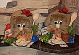 """Гарний домовичок """"На щастя"""", ручна робота, 18-20 див., 165/130 (ціна за 1 шт. + 35 гр.), фото 6"""