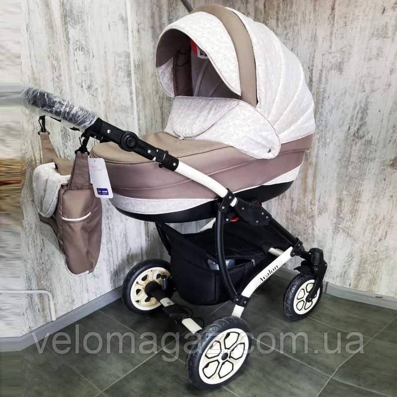 """Универсальная детская коляска 2 в 1 """"AVALON"""" Latte"""