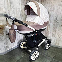 """Универсальная детская коляска 2 в 1 """"AVALON"""" Latte, фото 1"""
