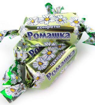 Конфеты Ромашка ТМ Рошен 1 кг.