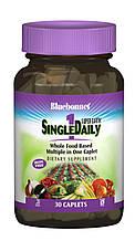 Мультивитамины без железа, Single Daily, Bluebonnet Nutrition, 30 капусл