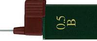 Грифель для механического карандаша 0.5мм 2B Super-Polymer 12 шт в пенале