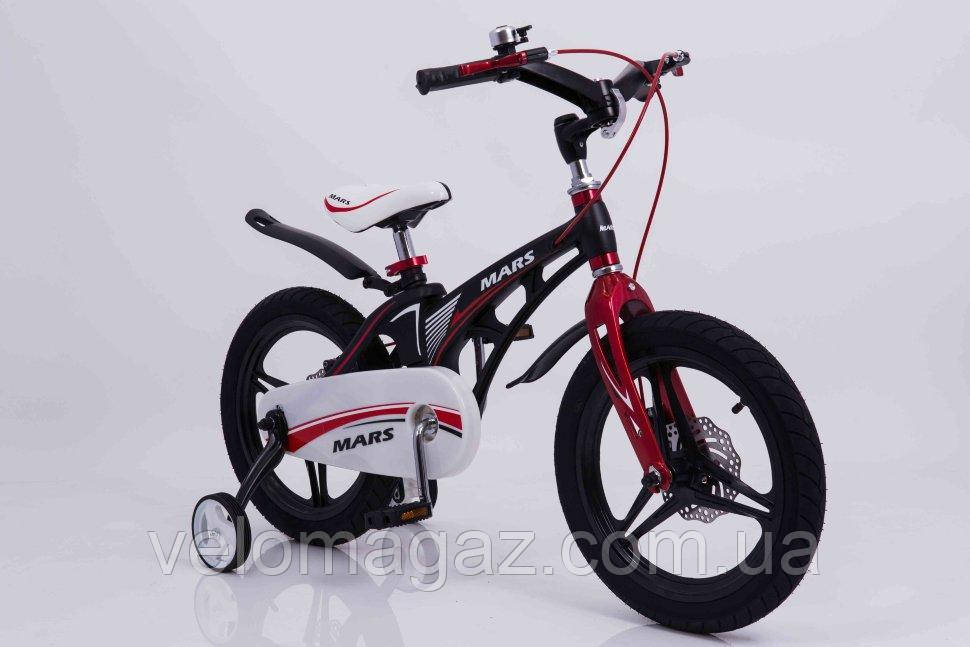 """Детский велосипед SIGMA MARS-14"""" Black"""
