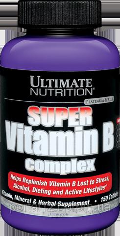 Супер Комплекс Витаминов Группы B, Ultimate Nutrition, 150 таблеток