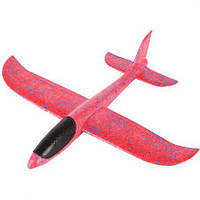 Метательный планер Explosion Большой размах крыльев 49 см (красный)