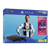 Sony PlayStation 4 Slim 500GB + Fifa 19