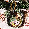 Символ года 2019 Новогодняя подвеска на елку Ручная работа