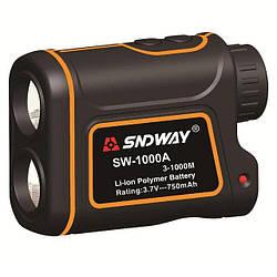 Лазерный дальномер спидометр SNDWAY SW-1000A Orange