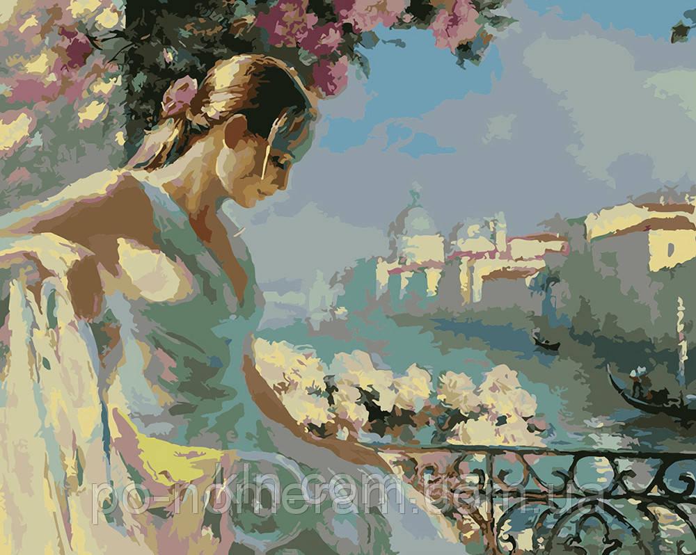 Картина по номерам Menglei MG1062 Мечты о Венеции 40 х 50 см