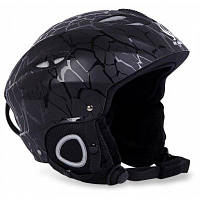 БЕНИЦЕ Открытый катание на лыжах велоспорт шлем - Чёрный