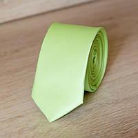 Галстук узкий светло-салатовый   Lan Franko. Арт.:GMUO019