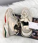 Женские кроссовки Puma Thunder Spectra Whisper White Пума в стиле бежевые с белым, фото 4