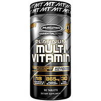 Витамины MuscleTech Essential Series Platunum Multi vitamin, 90 tabs