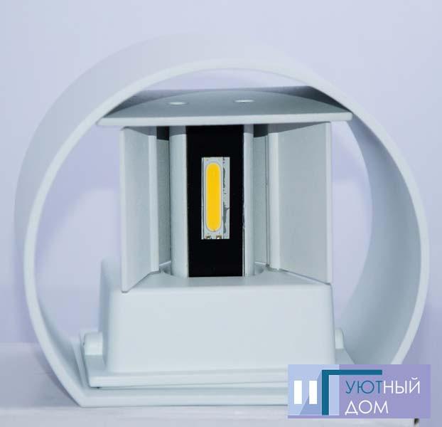Светодиодный светильник Feron DH013 белый 2х3W, фото 1
