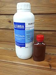 Краска для запайки среза кожи GIRBA NUBIO разливной 100мл цвет Коричневый