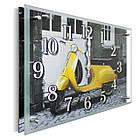 Часы настенные с картиной под стеклом YS-Art 30х40см (PB012), фото 2