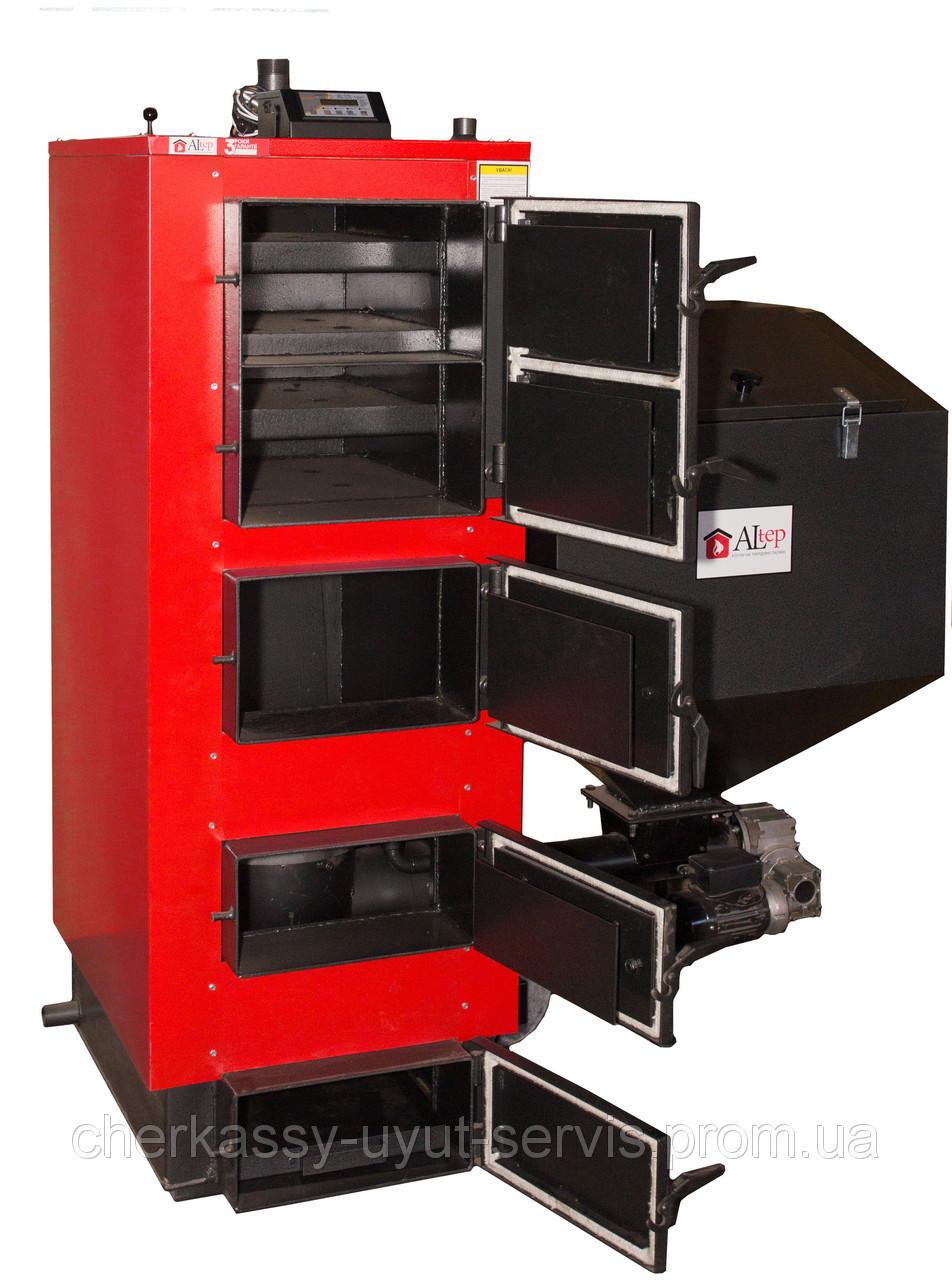 Altep твердотопливный котел длительного горения Альтеп КТ-2E-SH 62 кВт