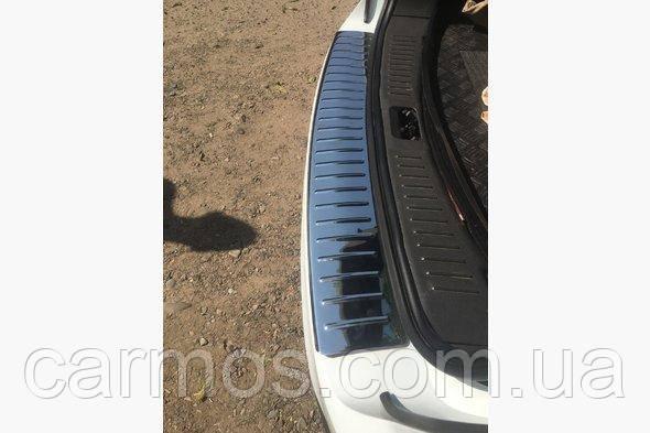 Накладка на задний бампер Ford Kuga (форд куга) 2008-2012. нерж.