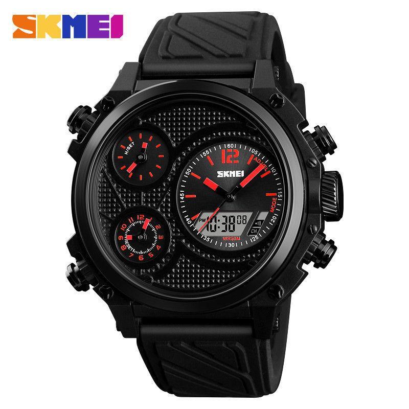 Мужские наручные часы Skmei 1359 красные