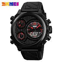Мужские наручные часы Skmei 1359 красные, фото 1