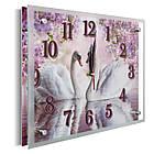 Часы настенные с картиной под стеклом YS-Art 25х30см (PR002), фото 2