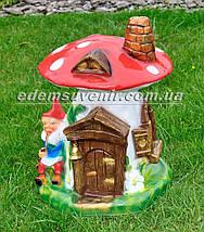 Садовая фигура Гриб-дом большой, фото 2