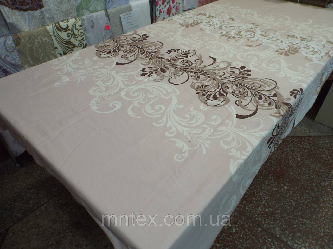 Ткань для пошива постельного белья бязь Белорусь ГОСТ Трюфель