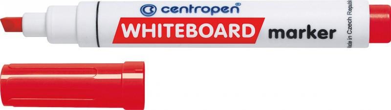 Маркер Centropen Board 1-4,6 мм клиноподібний червоний