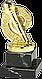 Статуэтка Микрофон MR025, фото 3