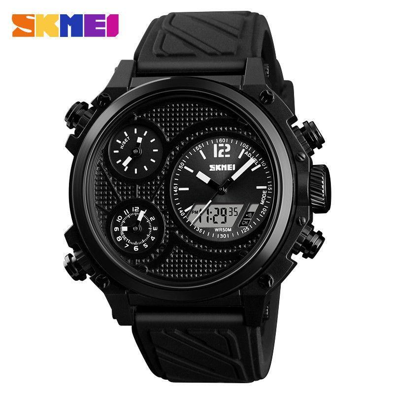 Мужские наручные часы Skmei 1359 черные