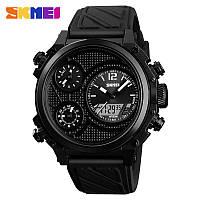 Мужские наручные часы Skmei 1359 черные, фото 1