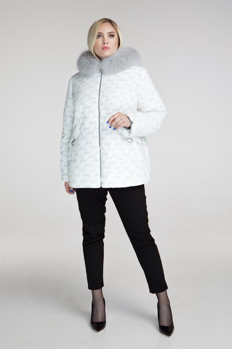 630913191fa7 Зимняя Куртка с Натуральным Песцом, Батал — в Категории