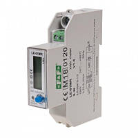 Счетчик электроэнергии однофазный LE-01MR с RS-485 (замена LE-01MP) с анализатором 100А F&F