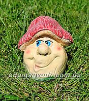 Садовая фигура Грибочек веселый средний