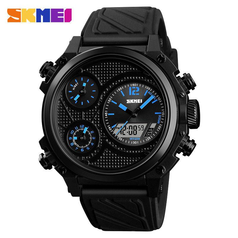 Мужские наручные часы Skmei 1359 синие
