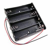 Бокс на 4 батареи 18650, 14.8 В, питание Arduino