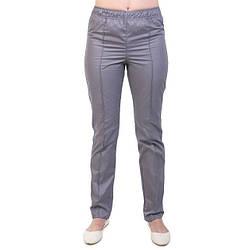 Медицинские штаны женские серые