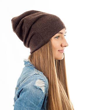 Зимняя шапка чулок, фото 2
