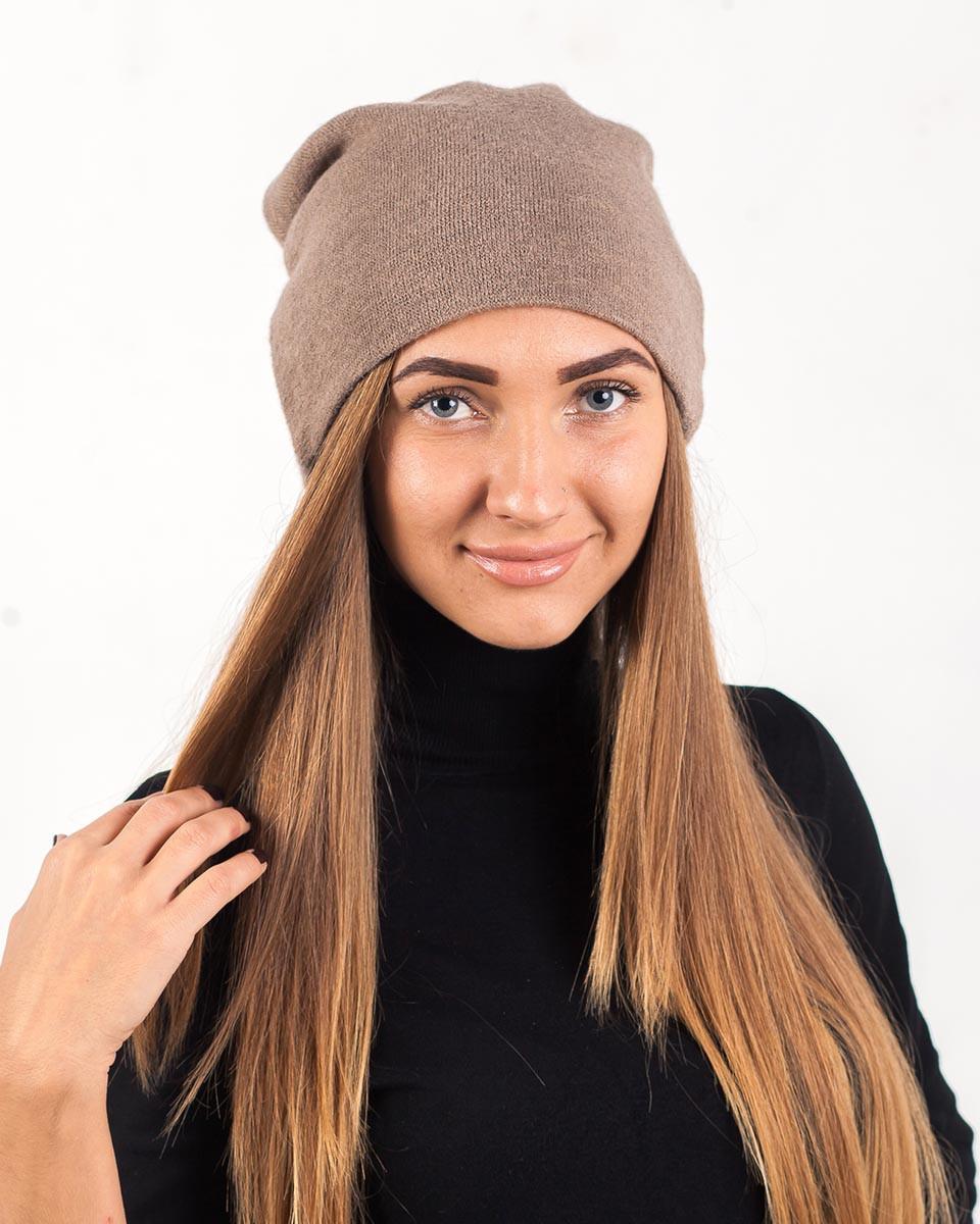 Зимняя шапка чулок